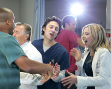 The cast of Scrubs spent two weeks shooting a musical episode